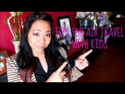 tips for air travel with kids fl