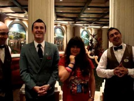 waiters at the sabitini restaura