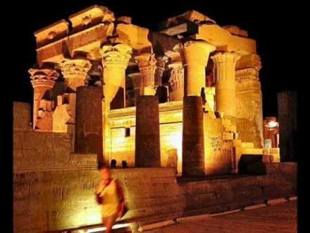 egypt nile cruise temple