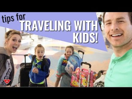 tips for traveling with kids jor