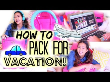how to pack for vacation orginiz